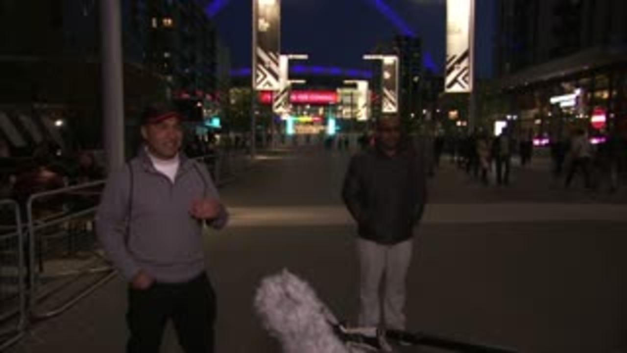 Fans speak of Wembley return for pilot event