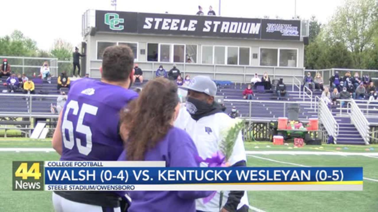KWC Battles Walsh on Senior Day