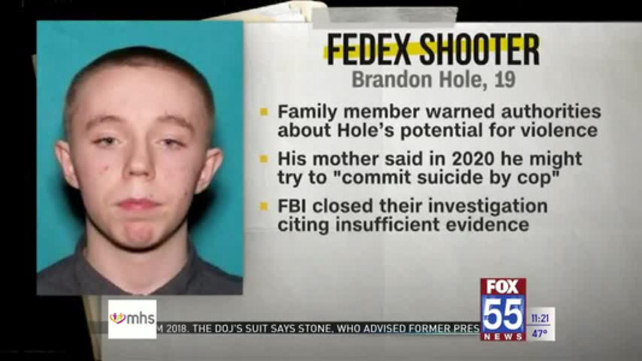FBI says it interviewed Indianapolis FedEx mass shooter last year after mother warned police