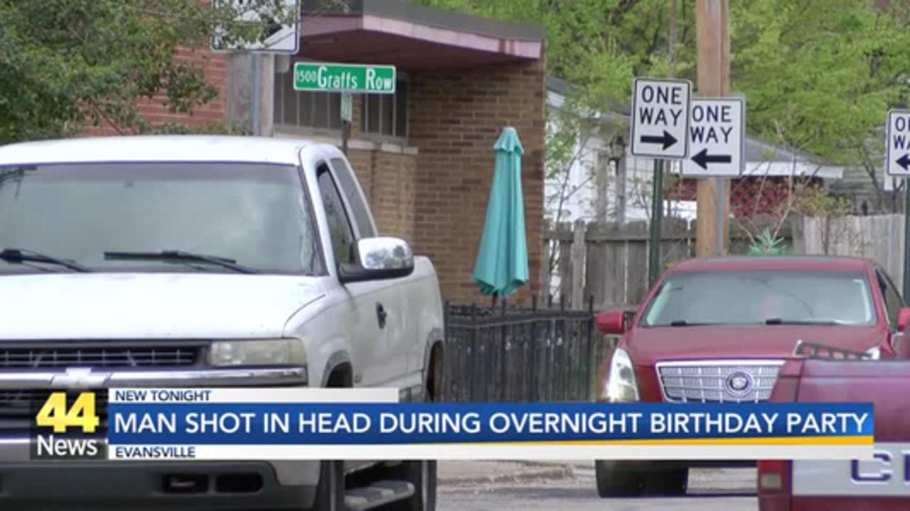Man Shot In Head During Overnight Birthday Party in Evansville