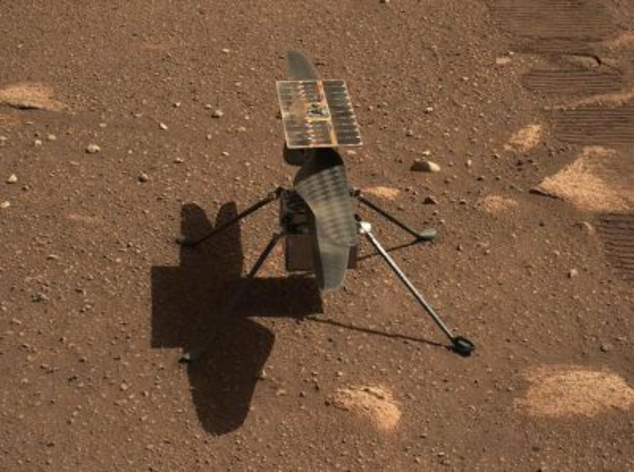 NASA's Mars Helicopter, Ingenuity, Successfully Completes First Flight