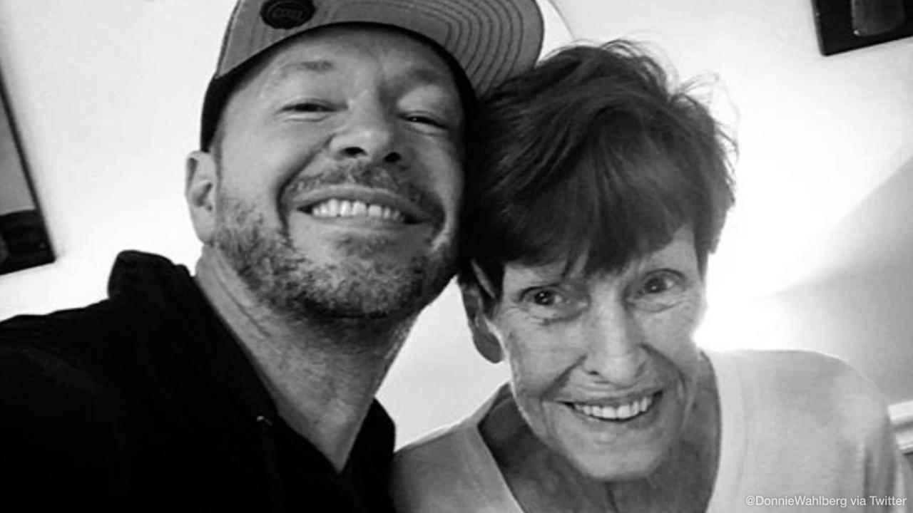 Mark and Donnie Wahlberg pay tribute to late mother Alma