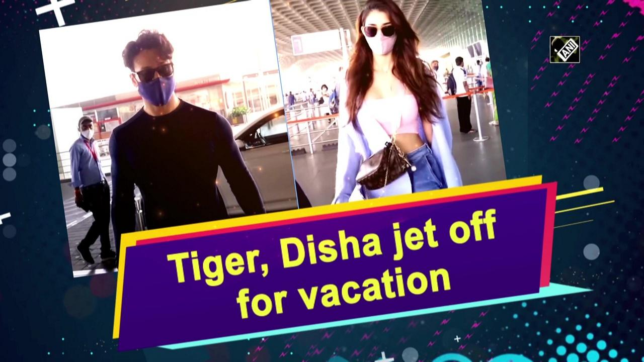 Tiger, Disha jet off for vacation