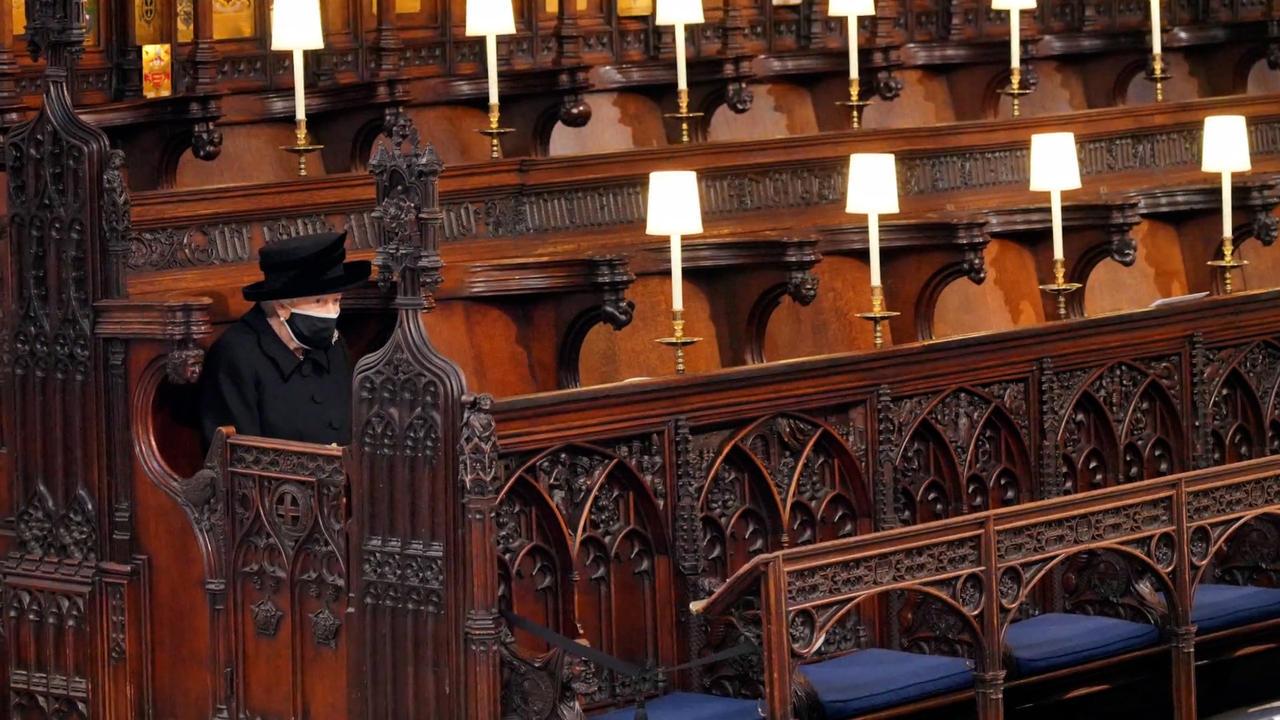 Beerdigung von Prinz Philip: Nach der Trauerfeier plauderten Harry und William