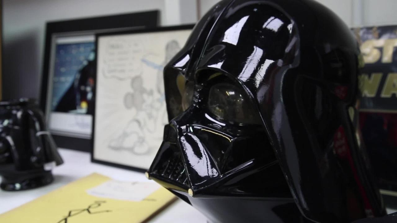 The estate of Star Wars actor David Prowse is going on sale