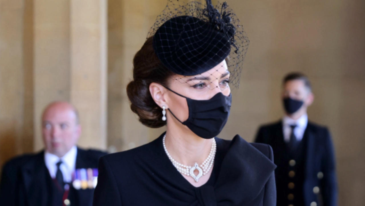 Kate Middleton Pays Tribute to the Queen and Prince Philip by Wearing One of the Queen's Pearl Necklaces
