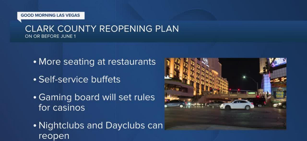 Clark County Commissioners to vote on reopening plans Tuesday