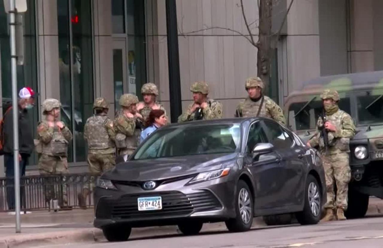 Minneapolis braces for Chauvin trial verdict