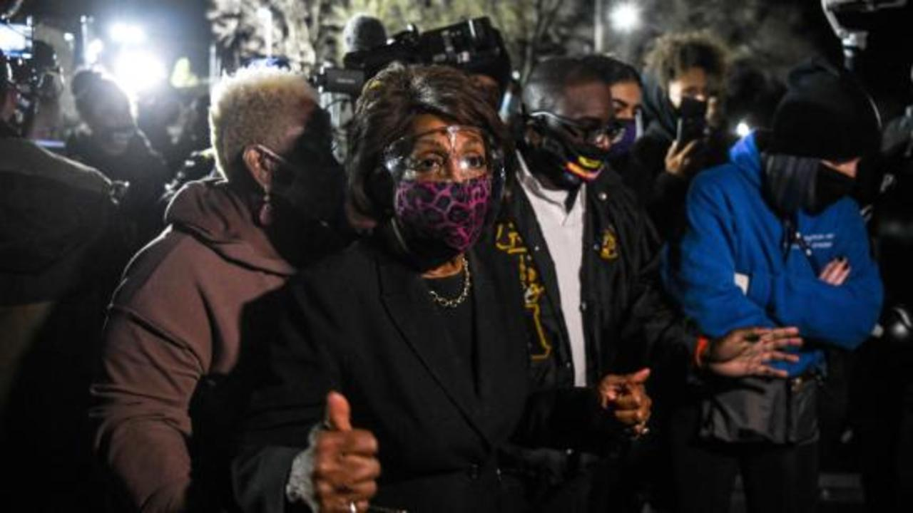 Hear Maxine Waters' controversial remark about Chauvin trial