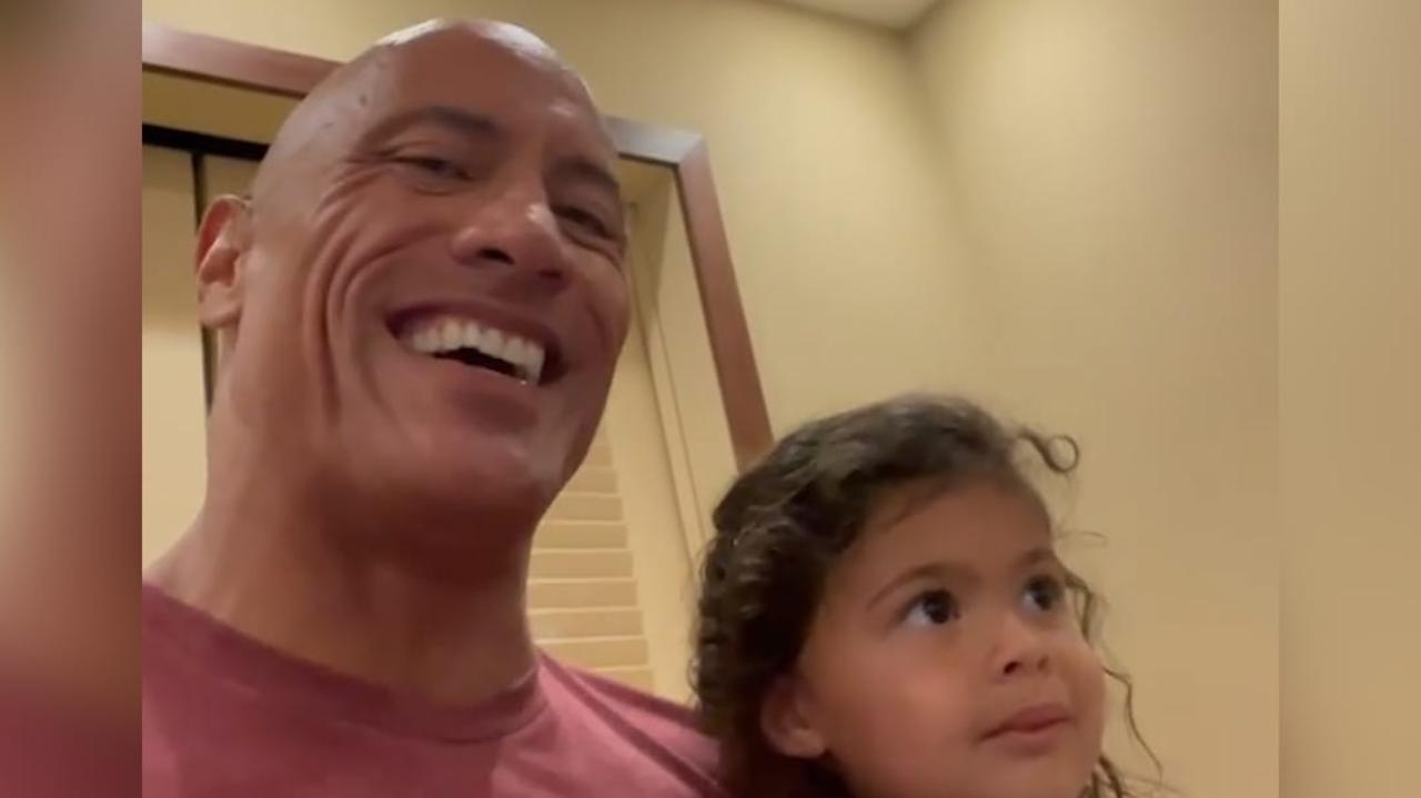 The Rock's daughter thinks Jason Momoa is cooler than him