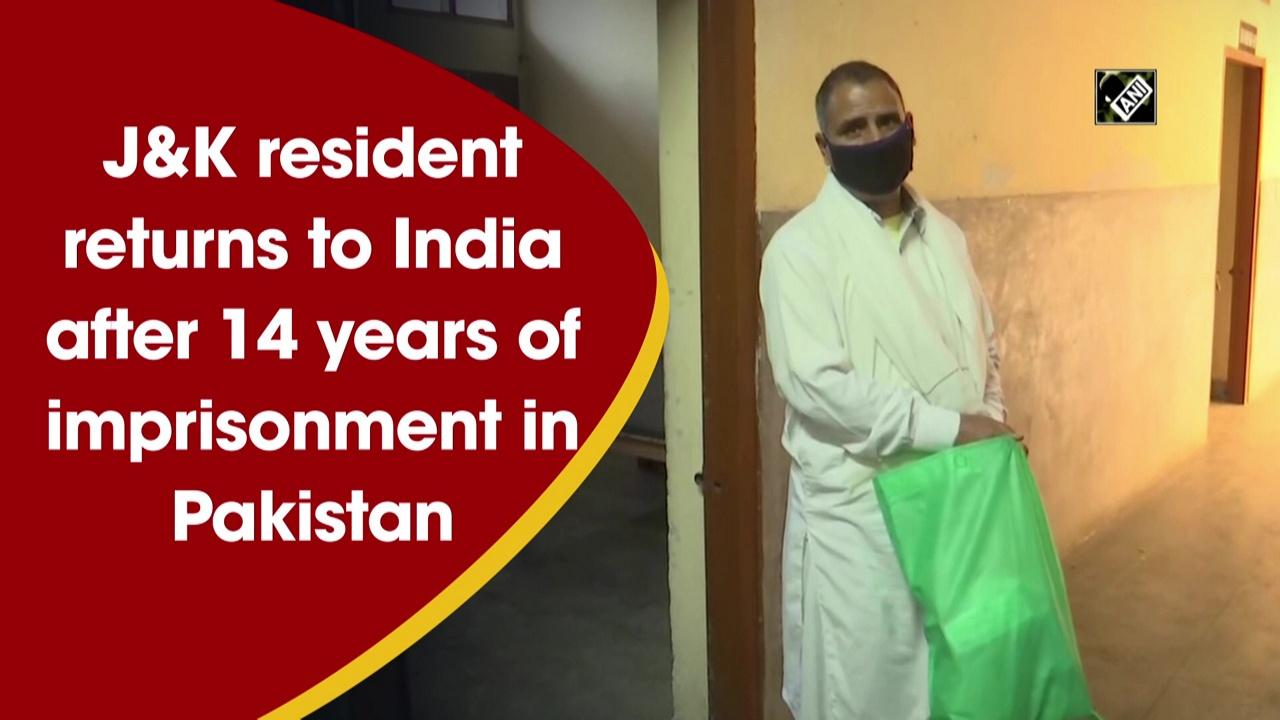 JandK resident returns to India after 14 years of imprisonment in Pakistan