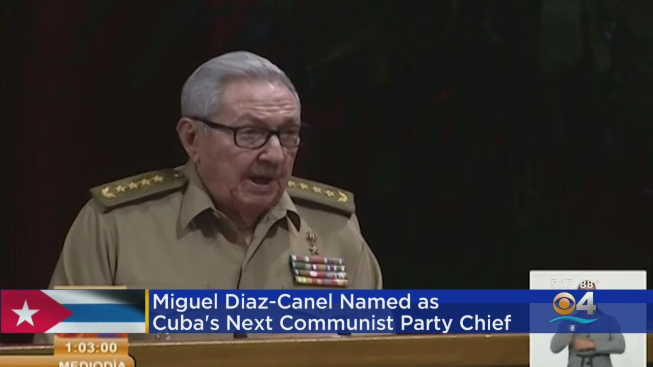 Miguel Díaz-Canel Officially Chosen To Lead Cuba's Communist Party
