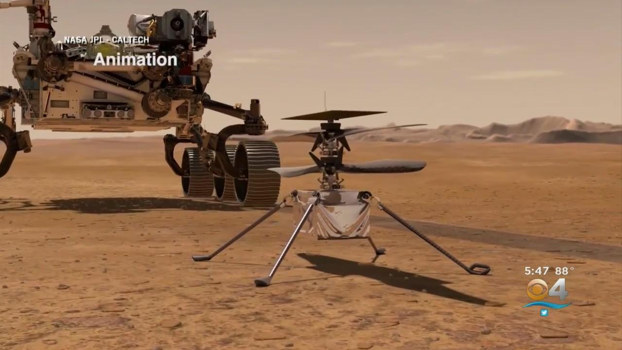 NASA Makes History With Helicopter Ingenuity's First Flight On Mars