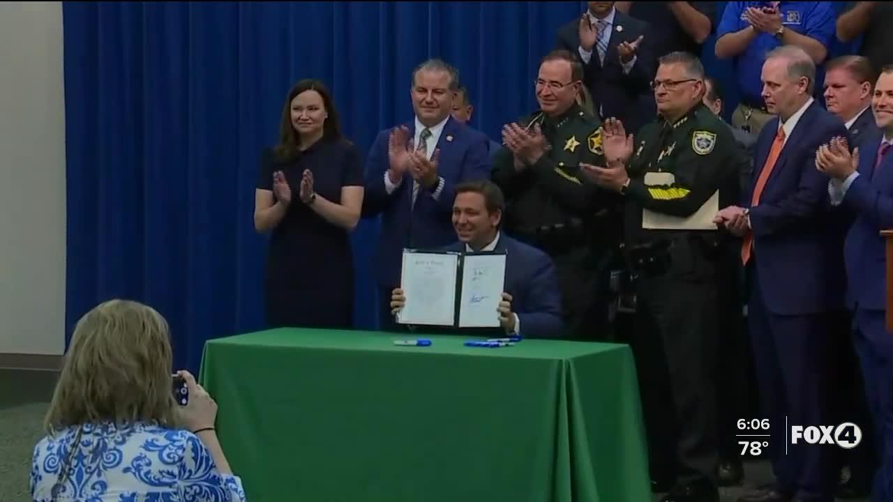Florida governor signs 'anti-riot' bill into law, promises tougher penalties for violent protesters