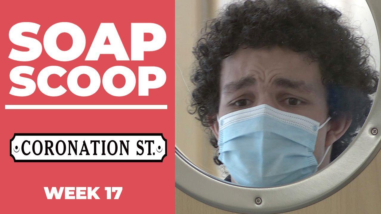 Coronation Street Soap Scoop! Simon makes a risky return