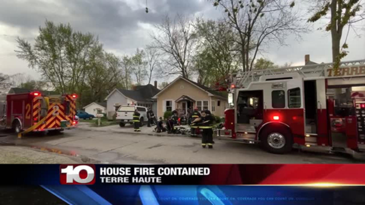 house fire contained