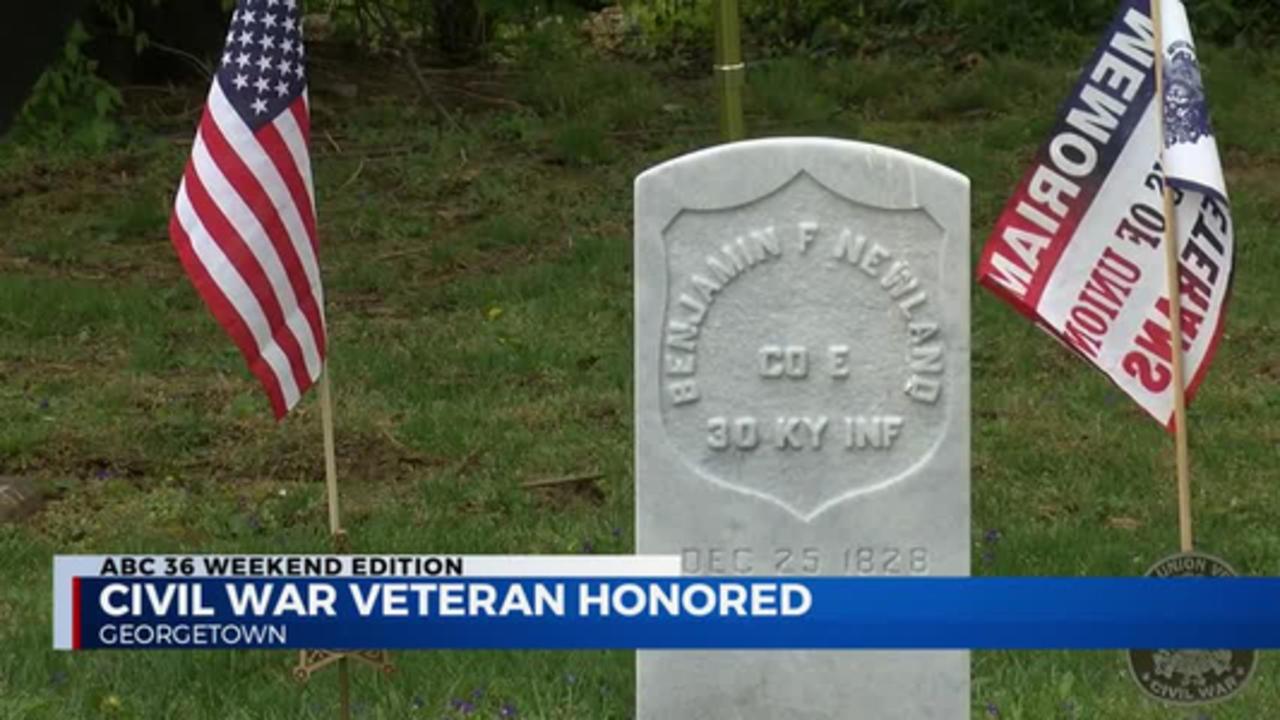 11pm Civil War Veteran Gravestone Dedication 04.18.2021