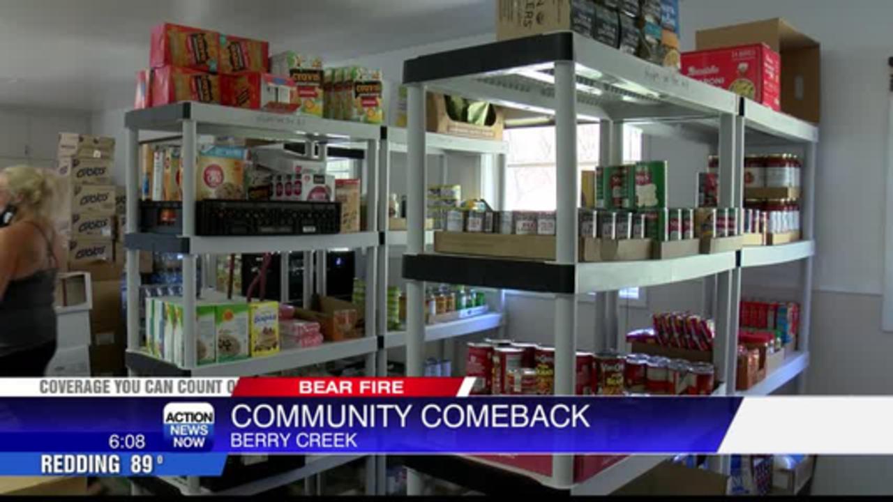 Berry Creek non-profit brings essentials to fire survivors