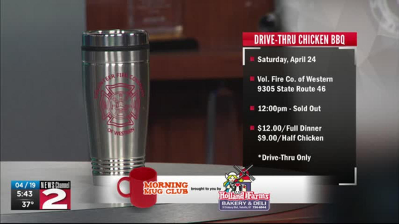 Mug Club: Drive-Thru Chicken BBQ at Vol. Fire Co. of Western