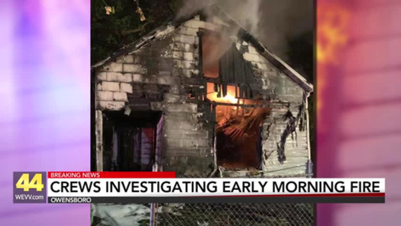 Owensboro Fire Crews Investigating Early Morning Fire