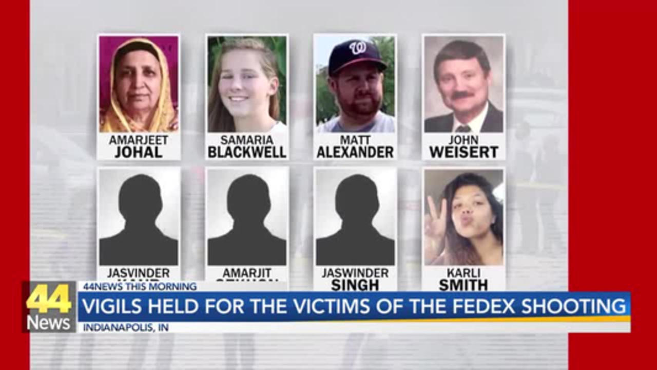 Vigils Held for Victims of Mass Shooting at Indianapolis FedEx Facility