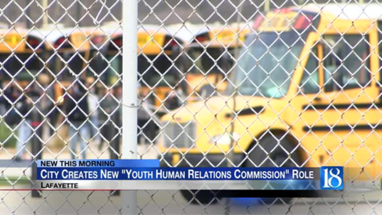 City of Lafayette creates 'Youth' Human Relations Commission, seeking high schoolers to fill positio
