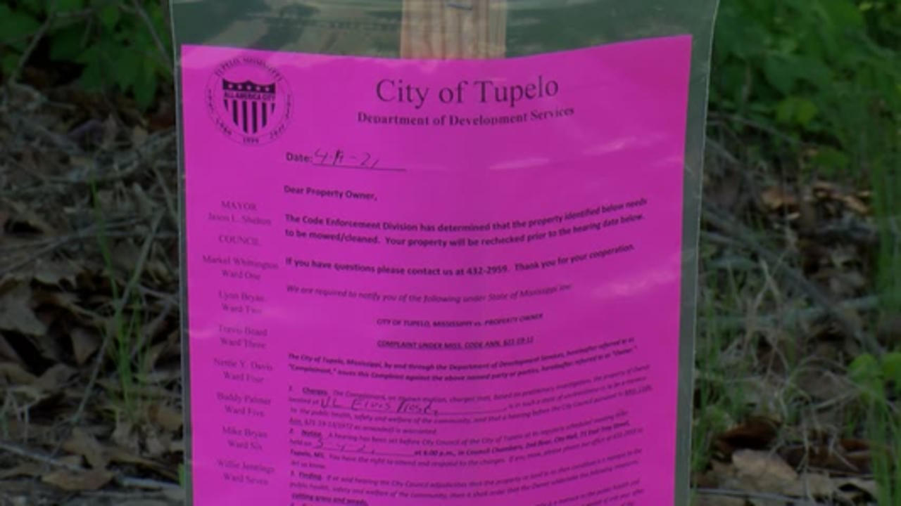 City of Tupelo announces land purchase of about .6 acres