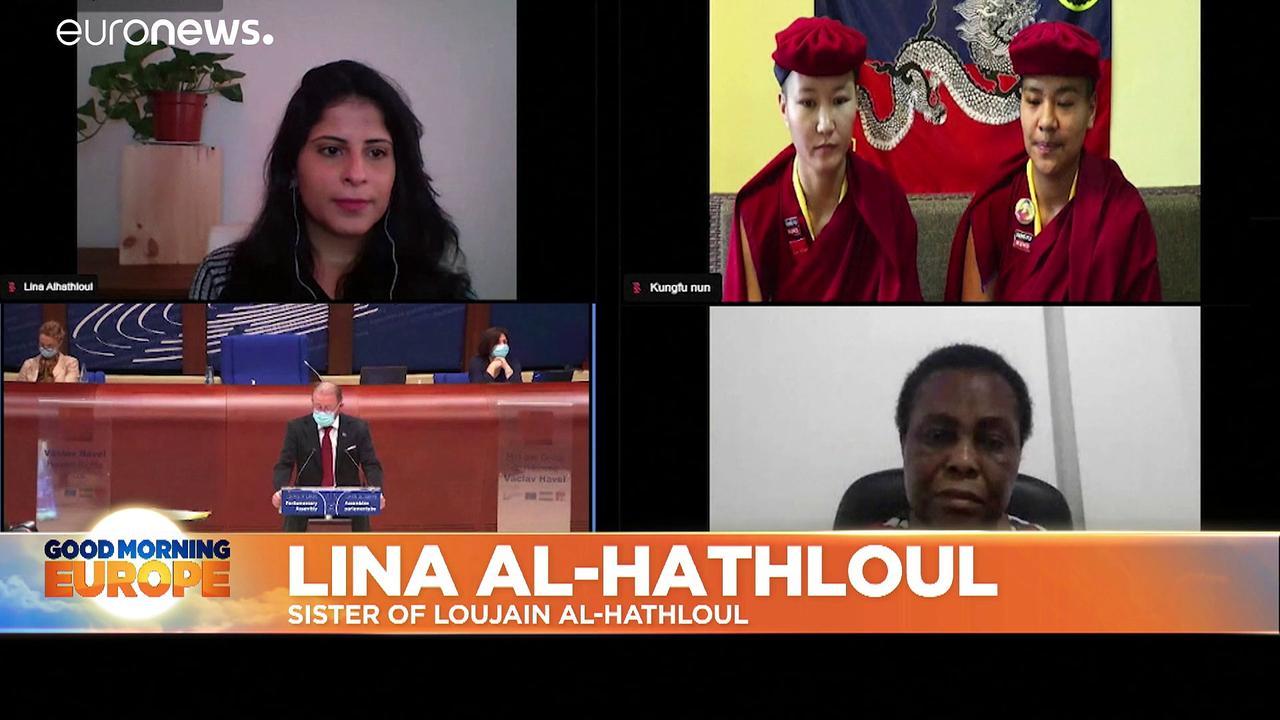 Saudi women's rights activist Loujain al-Hathloul awarded 2020 Vaclav Havel prize