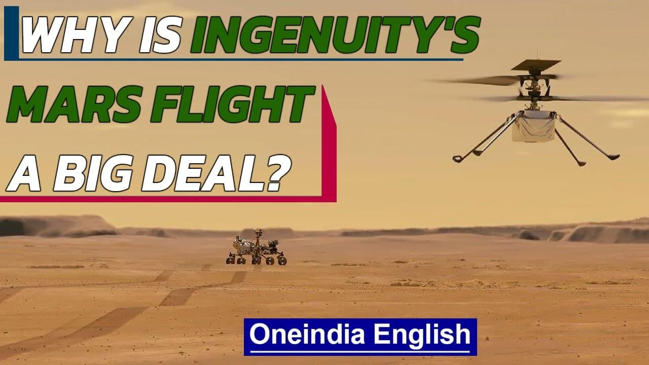 Ingenuity' first flight on Mars & why it matters | Oneindia News