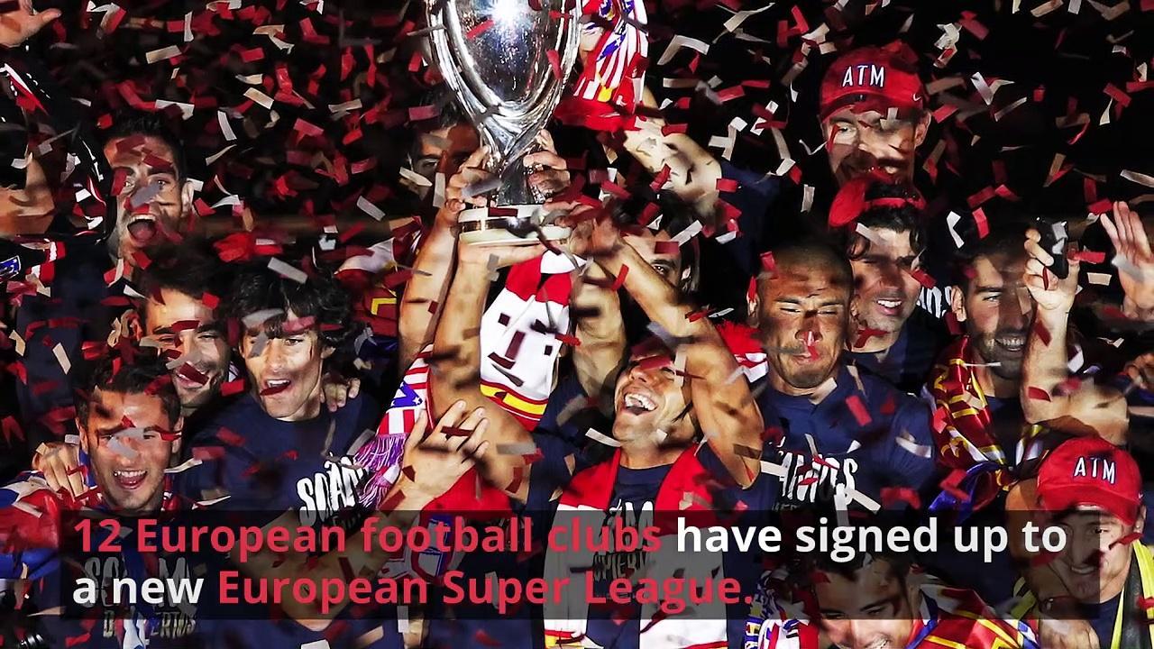European Super League Causes Uproar in the UK