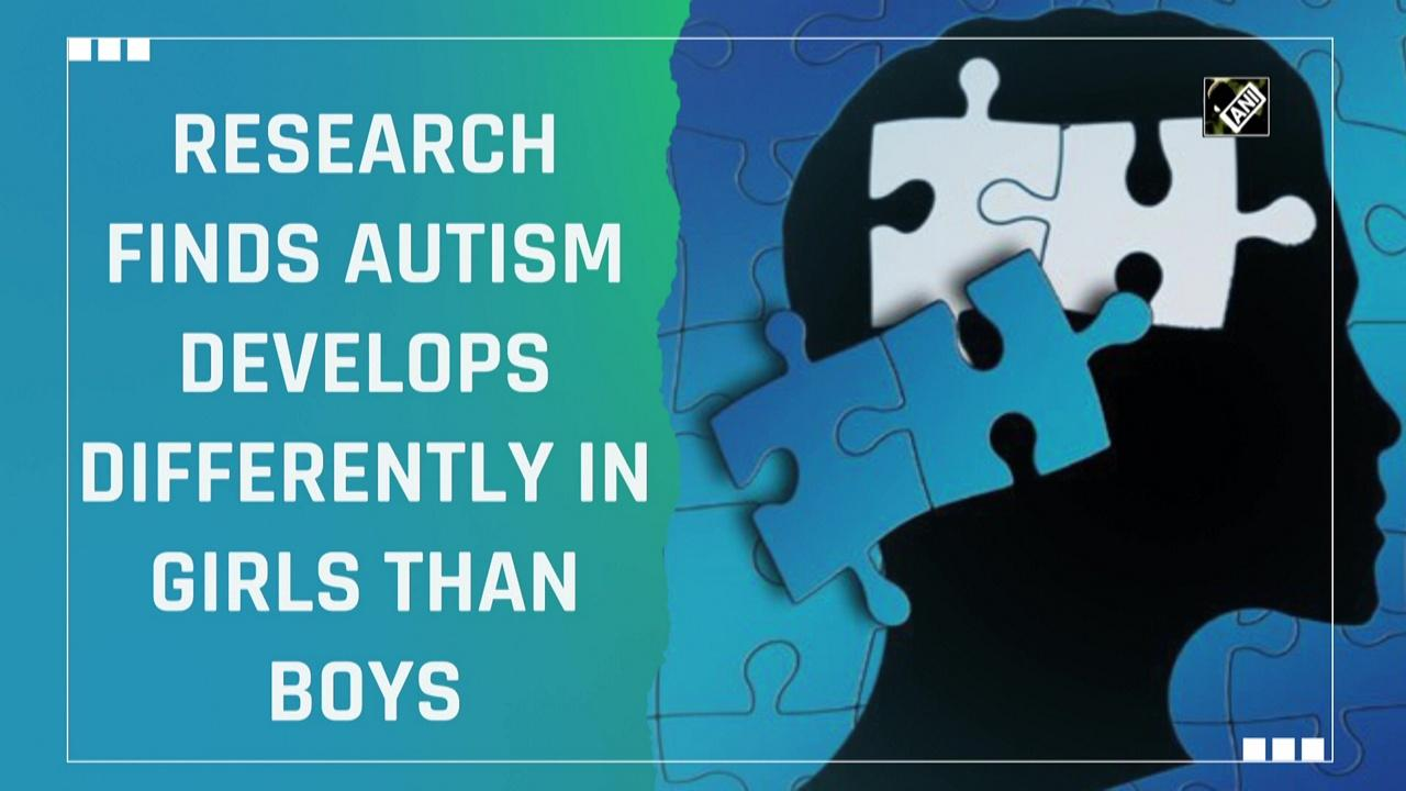 Research finds autism develops differently in girls than boys