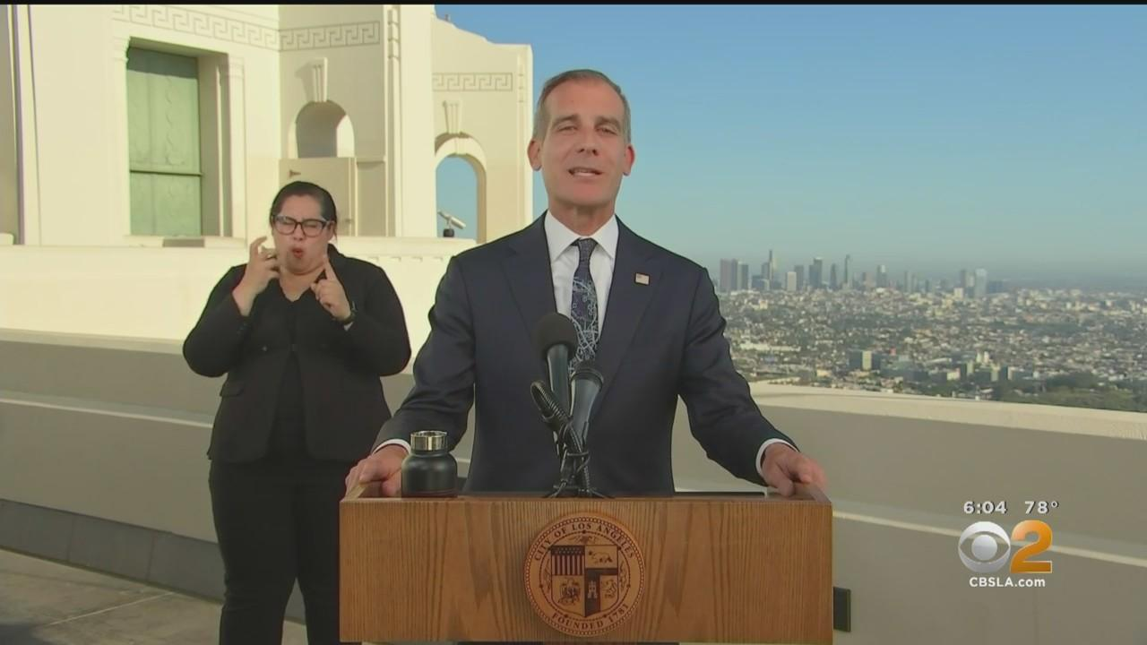 Garcetti Unveils 'Justice Budget' At State Of The City