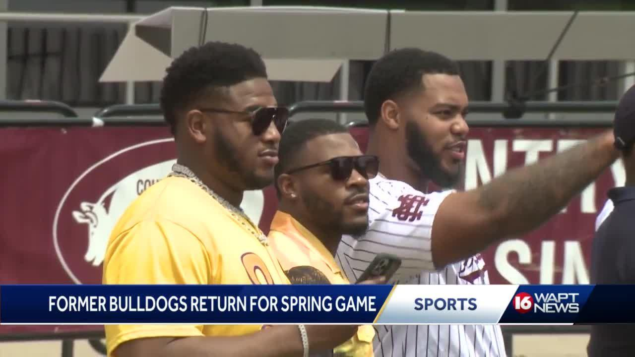 Former Bulldogs return to Starkville with advice on NFL life