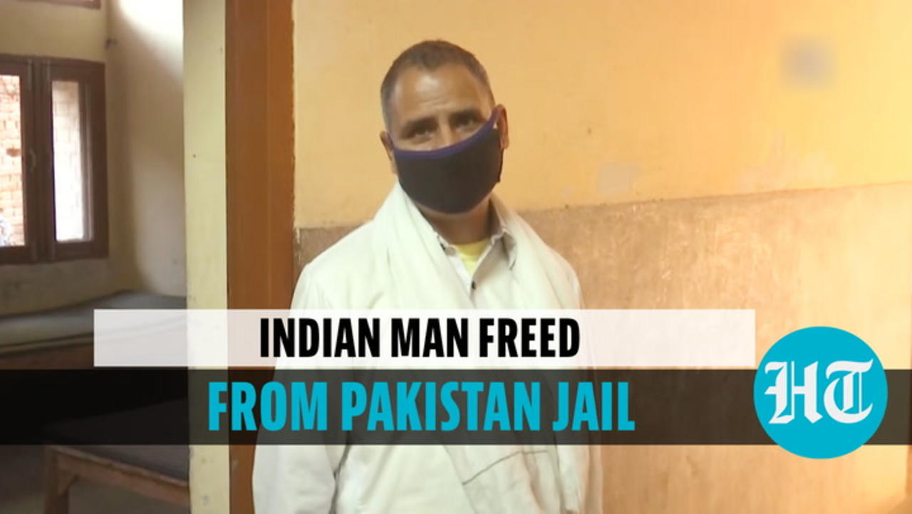 Watch: Man freed from Pakistan jail, returns to India after 14 years