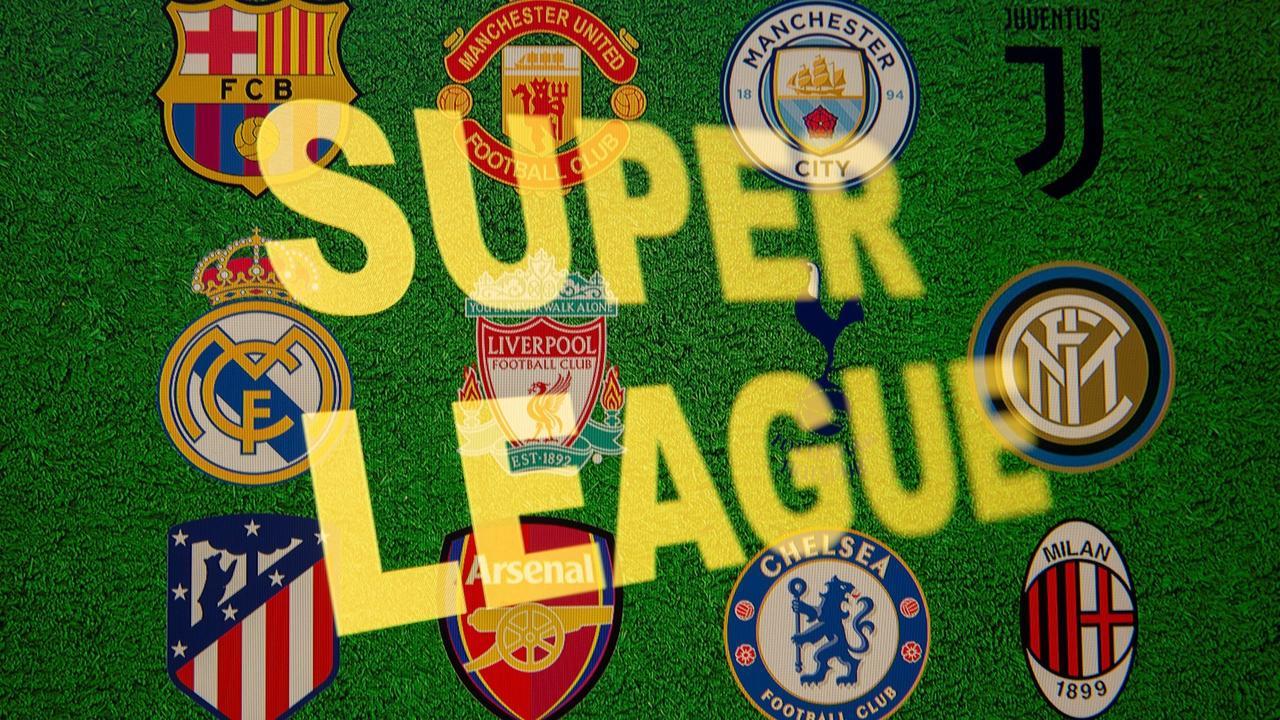 UEFA blasts 'disgraceful' Super League plan as backlash grows