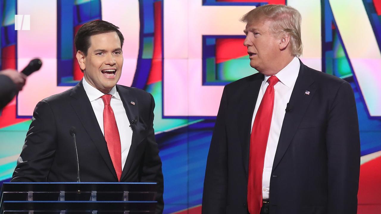GOP Group Scorches Marco Rubio's Hypocrisy