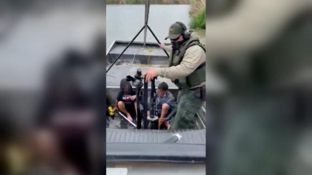 See Border Patrol rescue 2 migrant children in Rio Grande