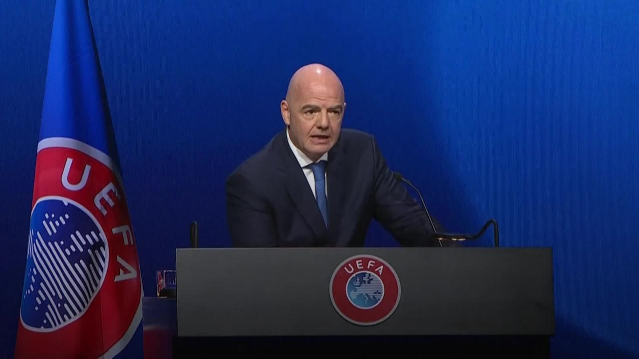 Breakaway clubs 'must live with consequences of their choice' – Gianni Infantino