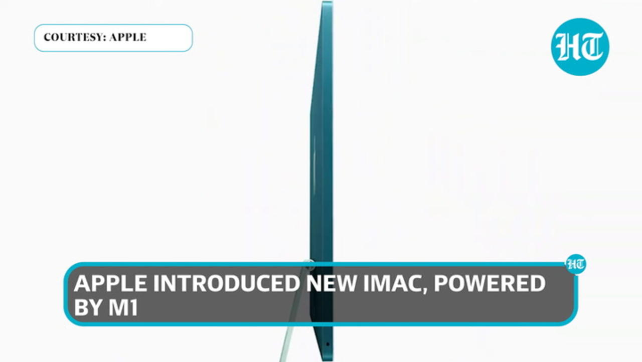 Apple iMac launched with M1 chipset: Know price & specifications