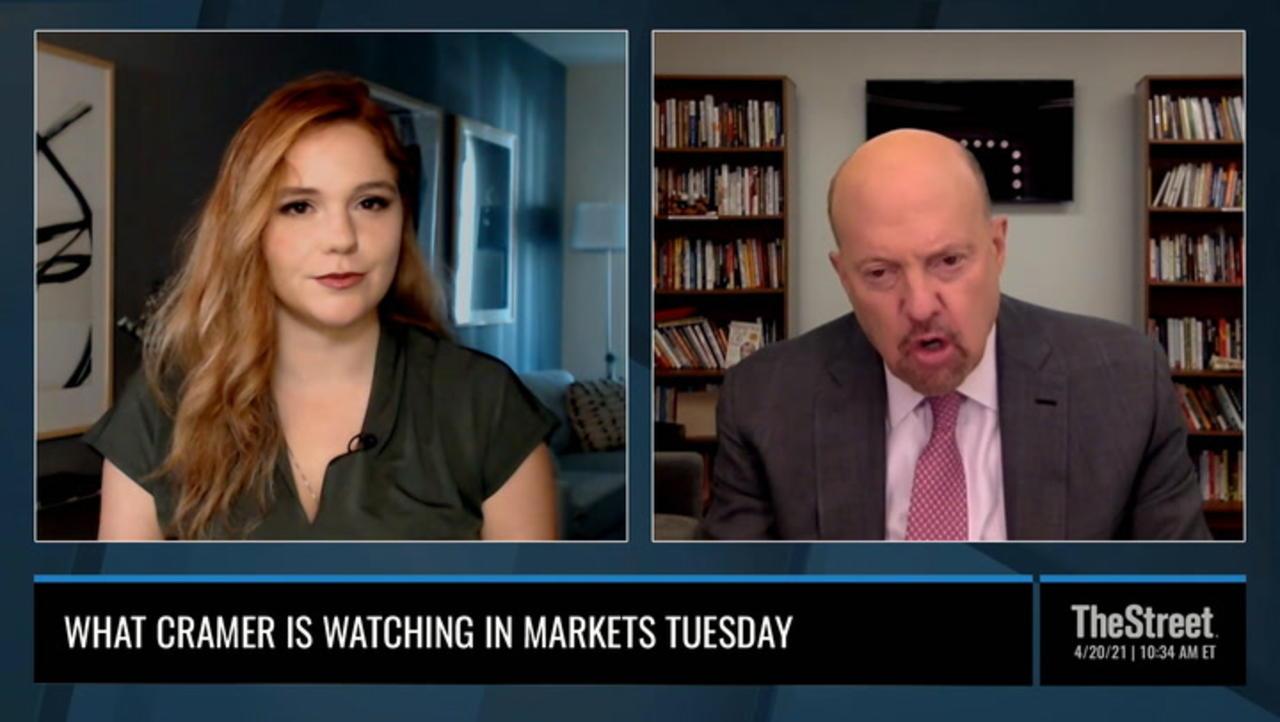 TheStreet Live Recap: Everything Jim Cramer Is Watching 4/20/21