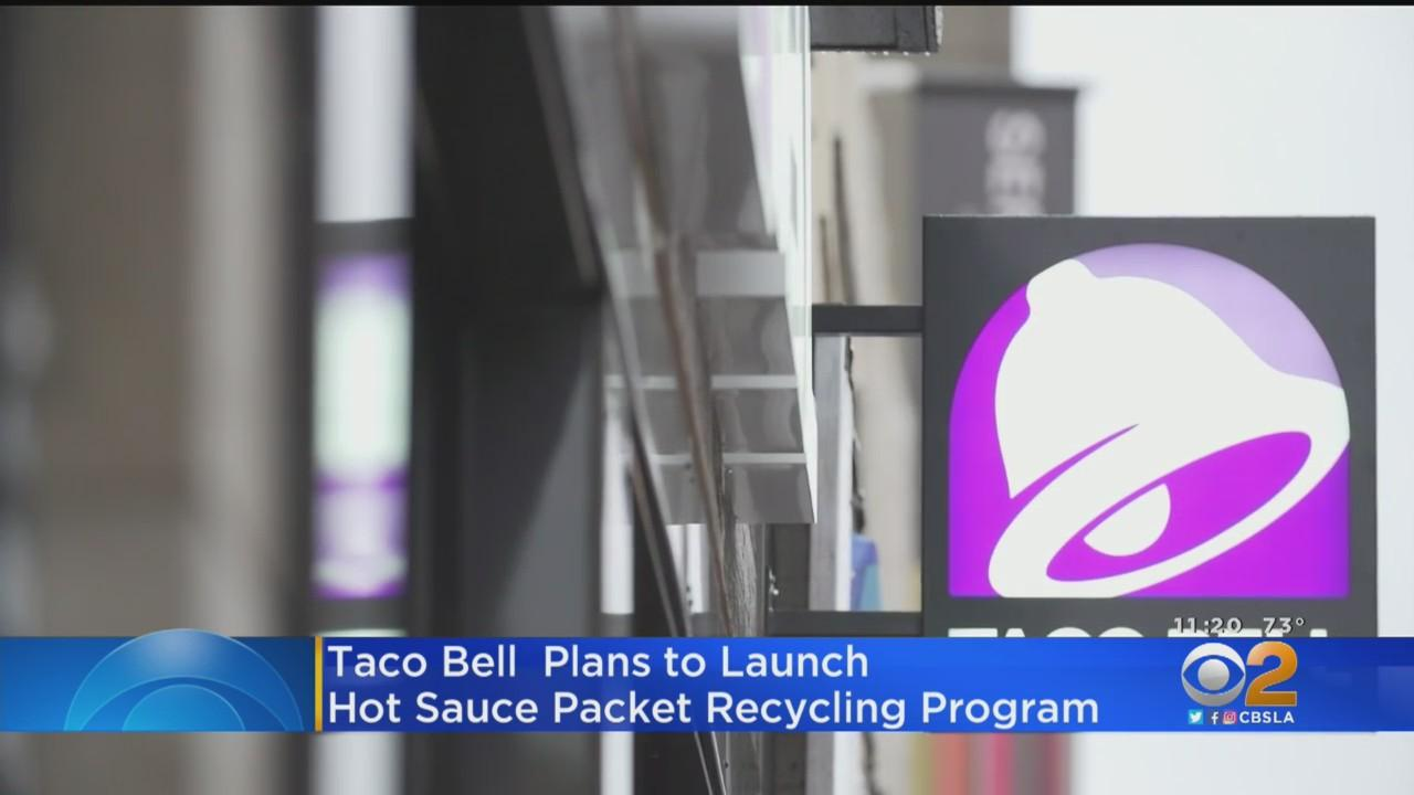 Taco Bell Launches Hot Sauce Packet Recycling Plan