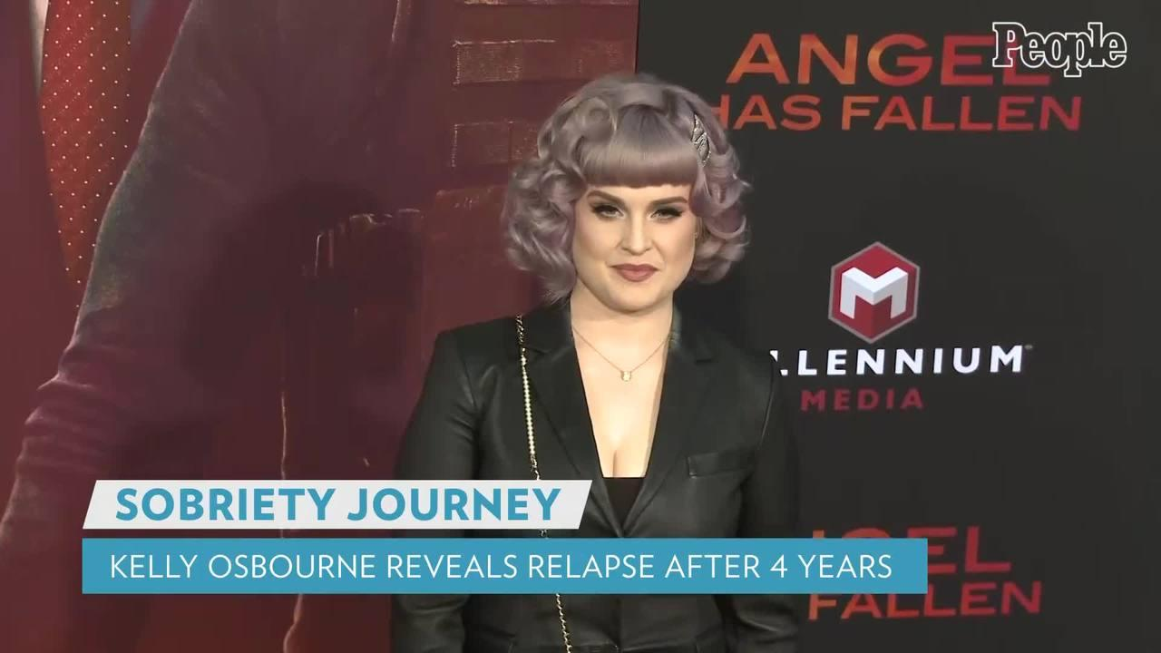 Kelly Osbourne Reveals She 'Relapsed' After Almost 4 Years of Sobriety: 'Not Proud of It'
