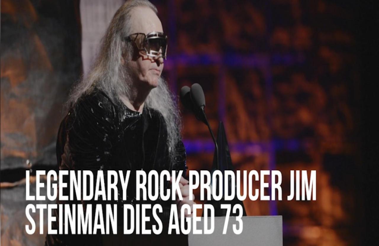 Legendary rock producer Jim Steinman has sadly died aged 73