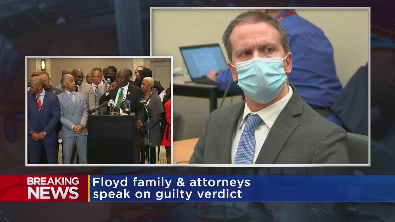 Attorney Ben Crump Speaks Following Chauvin's Guilty Verdict