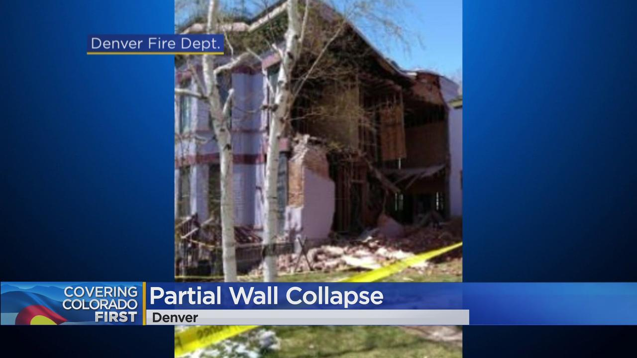 No Injuries After Home Under Renovation Partially Collapses