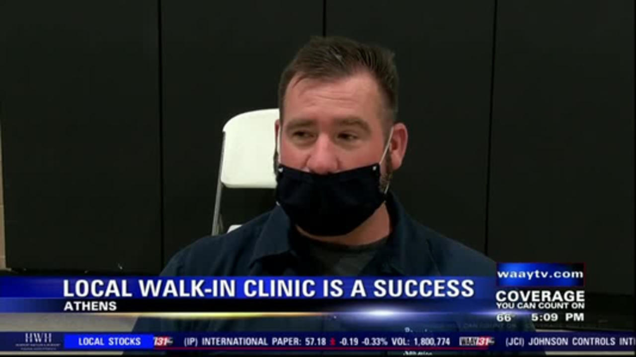 Athens Limestone Hospital's coronavirus vaccine clinic now welcoming walk-ins