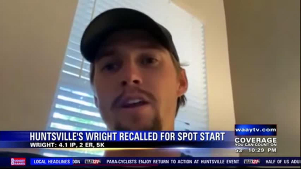Huntsville's Kyle Wright reflects on spot start at Wrigley Field with Atlanta Braves