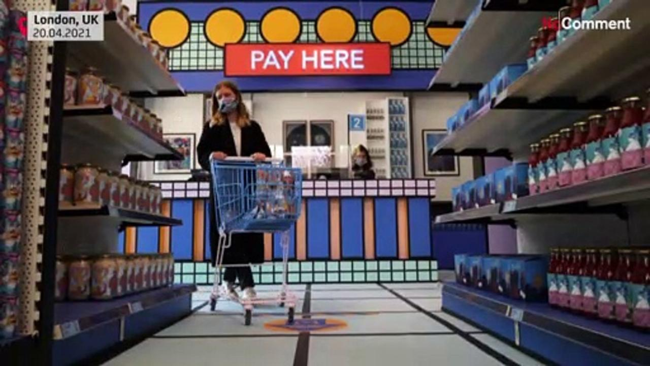 London Design museum opens mini-supermarket