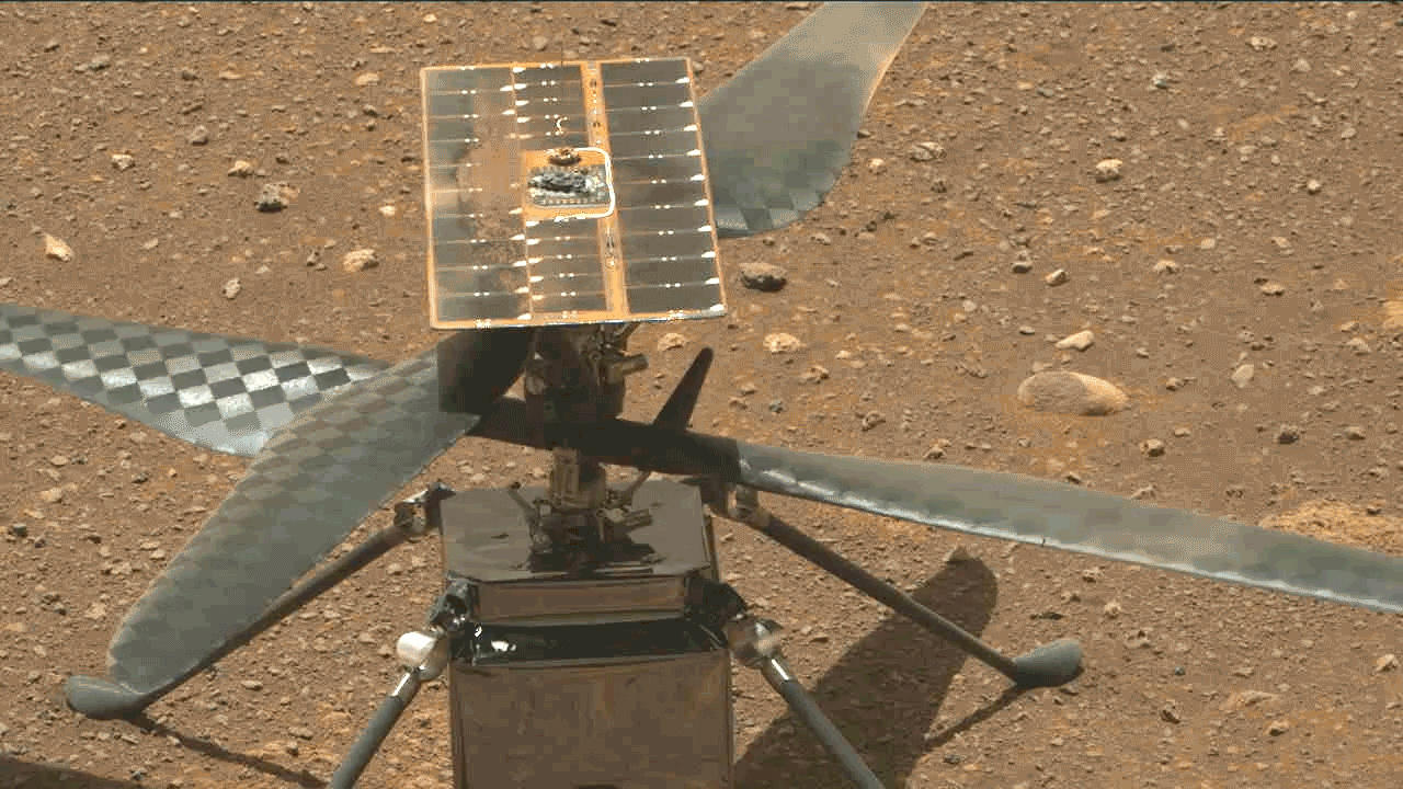 NASA Successfully Flies Helicopter On Mars