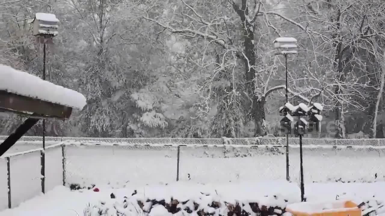 Missouri slammed with spring snow
